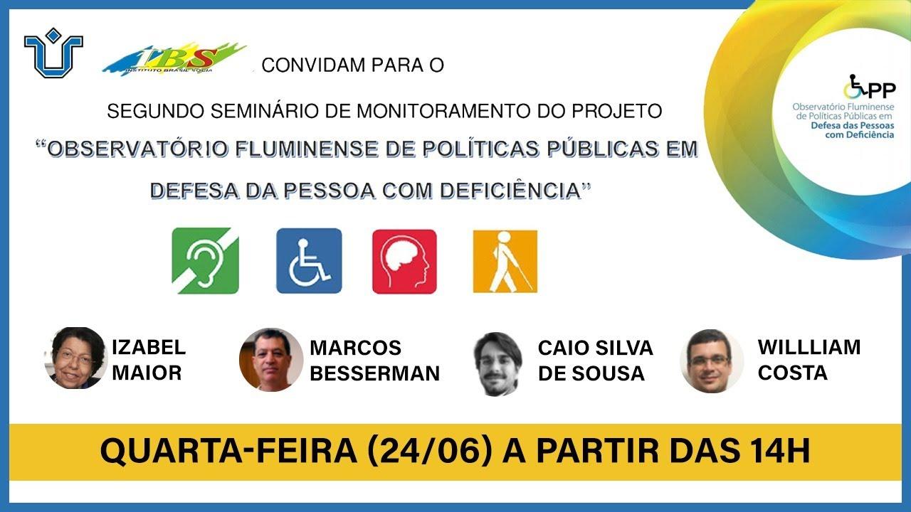 II Seminário de Políticas Públicas em Defesa da Pessoa com Deficiência