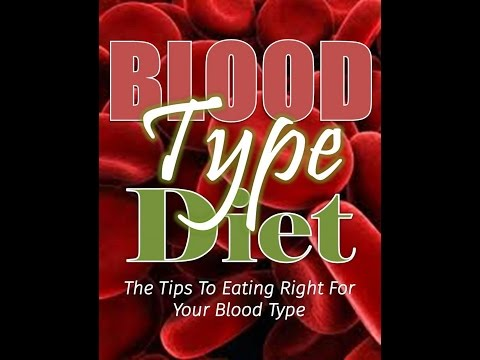 Eat Right for Your Blood type