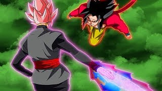 Super Saiyan 4 Goku Meets Rose' Goku Black AFTER Dragon Ball GT