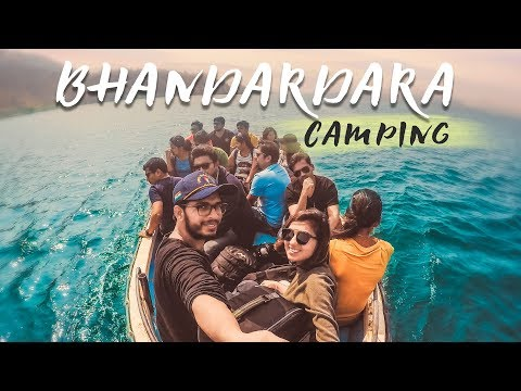 Camping Under Twinkling Sky | Bhandardara | Maharashtra Tourism | Wandering Minds VLOGS