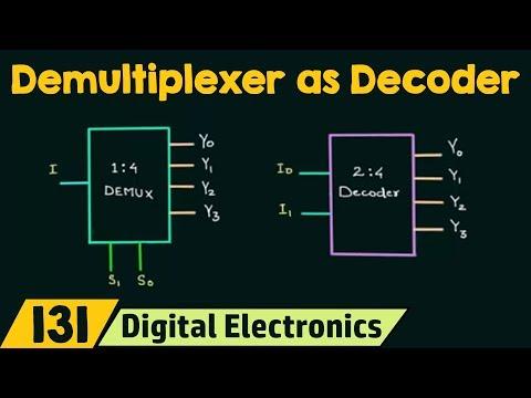 Demultiplexer as Decoder