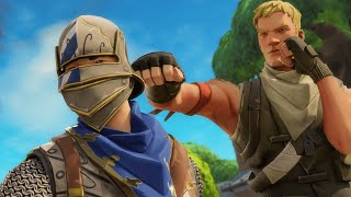 So I Challenged this Blue Squire for His Fortnite Account...*EMOTIONAL*