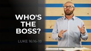 WHO'S THE BOSS?   Sunday Service 6 13 21 ONLINE   HBC