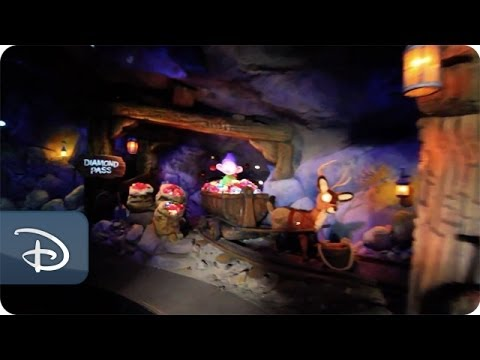 Seven Dwarfs Mine Train POV in New Fantasyland | Walt Disney World