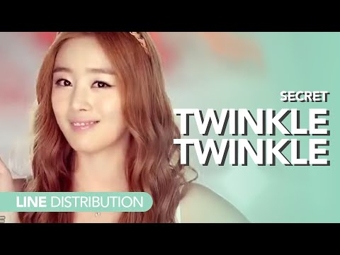 시크릿 Secret - Twinkle Twinkle | Line Distribution