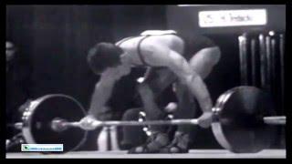 Tokyo 1964 Summer Olympic Games Men 56 Kg Snatch