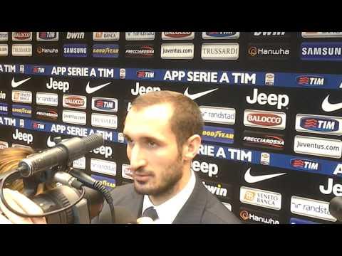"""Chiellini: """"Roma? Dipende tutto da noi. Ci vuole più concentrazione"""""""