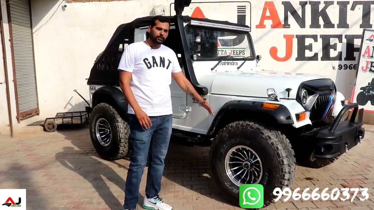 Modified 4x4 Thar Crde by Ankita jeeps
