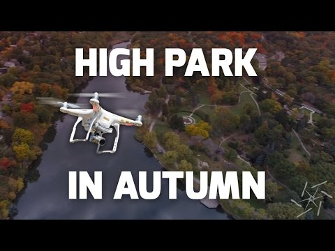 High Park Toronto In Autumn - Aerial Drone Video - Ontaerial