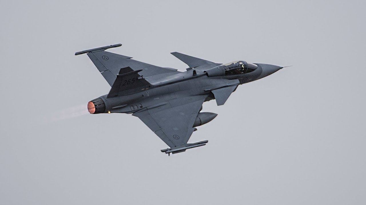saab jas 39 gripen e are designed to kill russia's sukhoi fighter jets