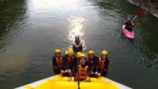 rafting and more shot 100% with ion air pro / niseko ukka 2012