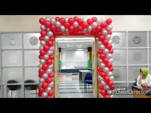 Dekorasi balon 17 agustus youtube for Dekor 17 agustus di hotel