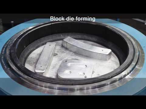 Quintus Technologies Deep Draw Hydroforming Press QFM 0.8-800