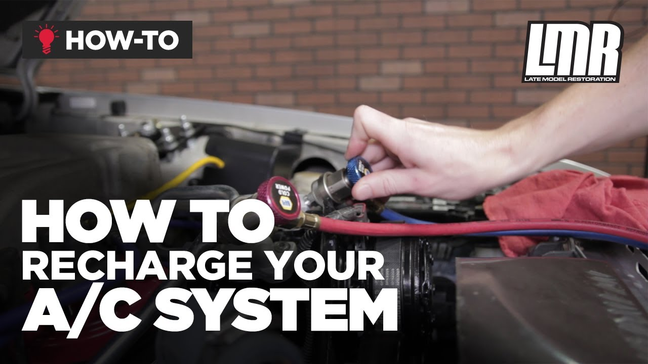 medium resolution of how to properly recharge mustang r134a a c system