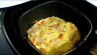 Omelete na Air Fryer - Fogo na Panela