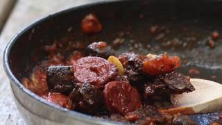 Chorizo with black pudding | British charcuterie recipe | Peter Sidwell