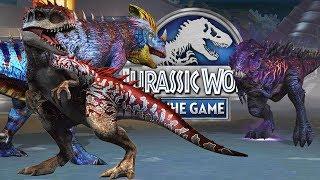 3 Индоминуса+3 Пахикалозавра+++добили Омега 09 до 7 уровня Jurassic World The Game