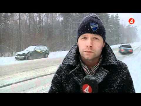 Volvo 740 sladdar i tv4-nyheterna!!