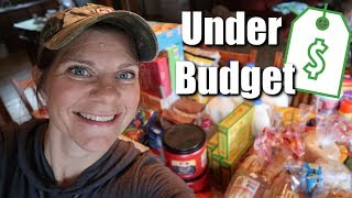 🛒LARGE FAMILY Monthly Grocery Haul | Under Budget by $200