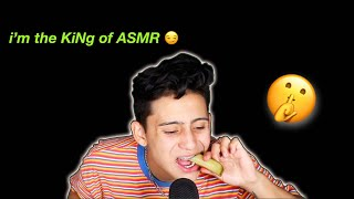 i became a professional ASMR-er for this video