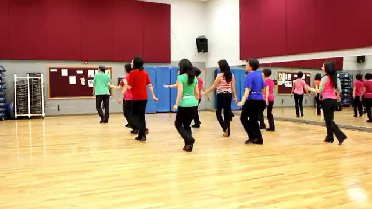 Waltz Over Belsize - Line Dance (Dance & Teach in English & 中文) - YouTube