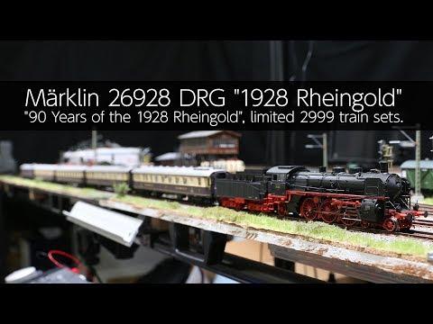 """Märklin 26928 DRG """"1928 Rheingold"""" - VLOG57"""