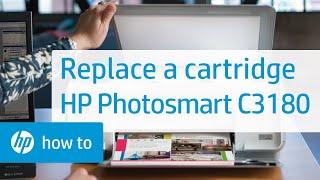 Replacing a Cartridge - HP Photosmart C3180 All-in-One Printer(, 2010-11-04T20:18:23.000Z)