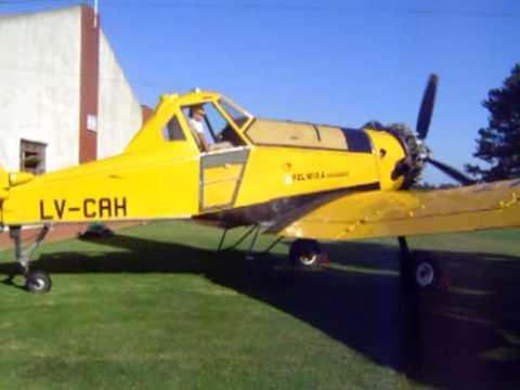 PZL M18 Dromader en Miramar (Bs.As.)