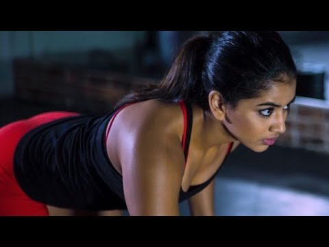 Hot Indian Girl Workout In The Gym