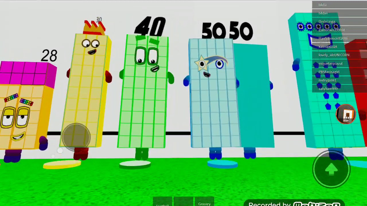Numberblocks Roleplay 50 Is Back Youtube