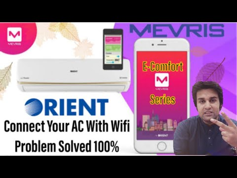 How To Connect Orient Ultron AC With Phone/Wifi (Complete Tutorial) Connect With MEVRIS Application
