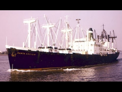 "Grace Line ""Santa"" Ship voyage to South America SILENT"