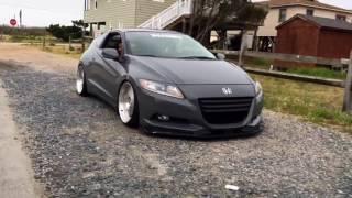 Slammed Honda CRZ
