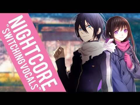 Nightcore  Bad Apple! Switching Vocals