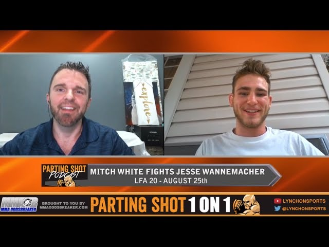 "LFA 20's Mitch White ""I'm going to take out Jesse Wannemacher on the feet"""