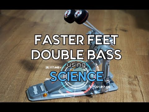 FASTER FEET For DOUBLE BASS Using The Power Of SCIENCE
