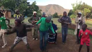 'Sesotho Sounds' - Local Band in Lesotho
