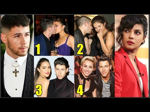 Nick Jonas Girlfriend List Before Dating Priyanka Chopra