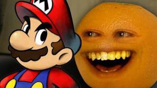 Annoying Orange - Super Mario thumbnail