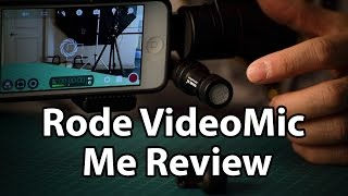 Rode VideoMic Me Review: a great microphone for iPhone and Android Smartphones