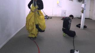 Parachute packing Part 1