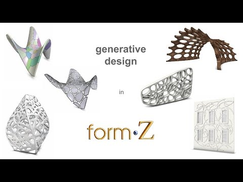 generative design in form•Z 8.5