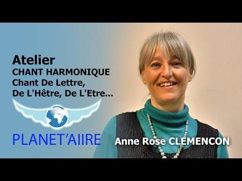 Atelier CHANT HARMONIQUE - Anne Rose Clemençon