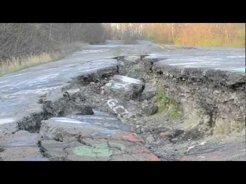 Exploring the Centralia Mine Fire Ghost Town - PA