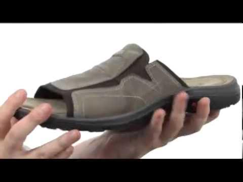 4ddfd0b910f ECCO Sport Costa Slide Sandal SKU  8036638 - YouTube