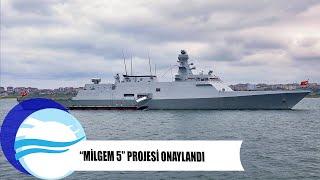 """Yerli ve milli """"MİLGEM 5"""" projesine onay çıktı - milgem projesi gemi recep tayyip erdoğan"""
