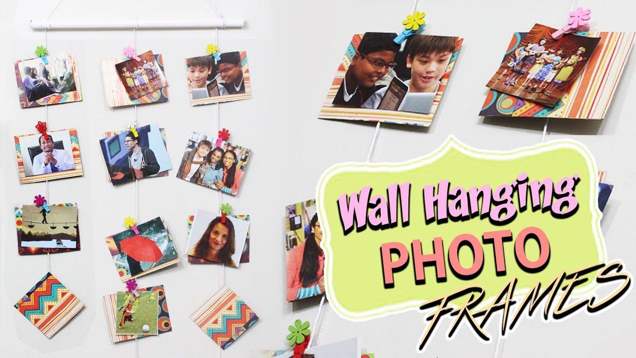 How to make cardboard photo frame cardboard recycling do it how to make cardboard photo frame cardboard recycling do it yourself wall hanging solutioingenieria Gallery