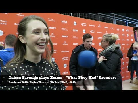 Sundance 2018 Taissa Farmiga at What They Had Premiere