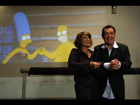 Interview des doubleurs de Homer et Marge Simpson