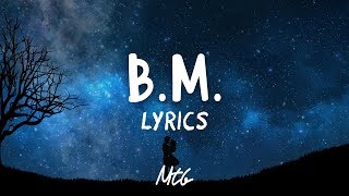 Kris Wu - B.M. (Lyrics)